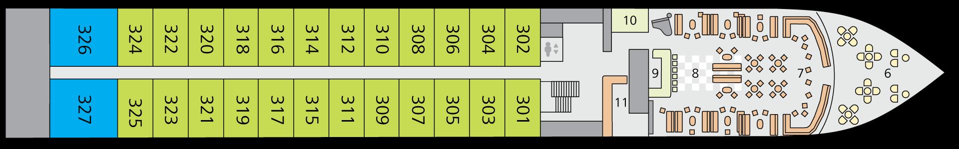 A-ROSA ALVA Deck 3
