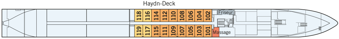 AMADEUS Queen Haydn-Deck