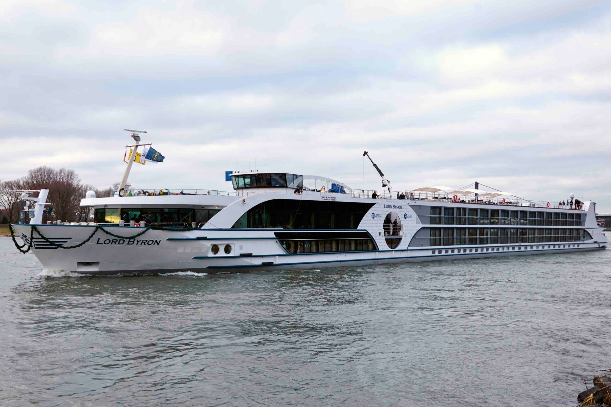 VIVA Cruises: MS LORD BYRON übernimmt Routen von MS SWISS GLORIA