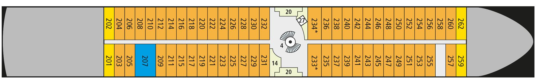 A-ROSA SENA Deck 2