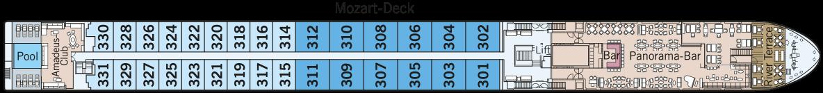 AMADEUS Queen Mozart-Deck