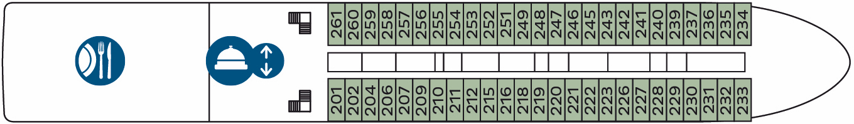 MS CENTURY GLORY Deck 2