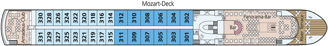 AMADEUS Diamond Mozart-Deck