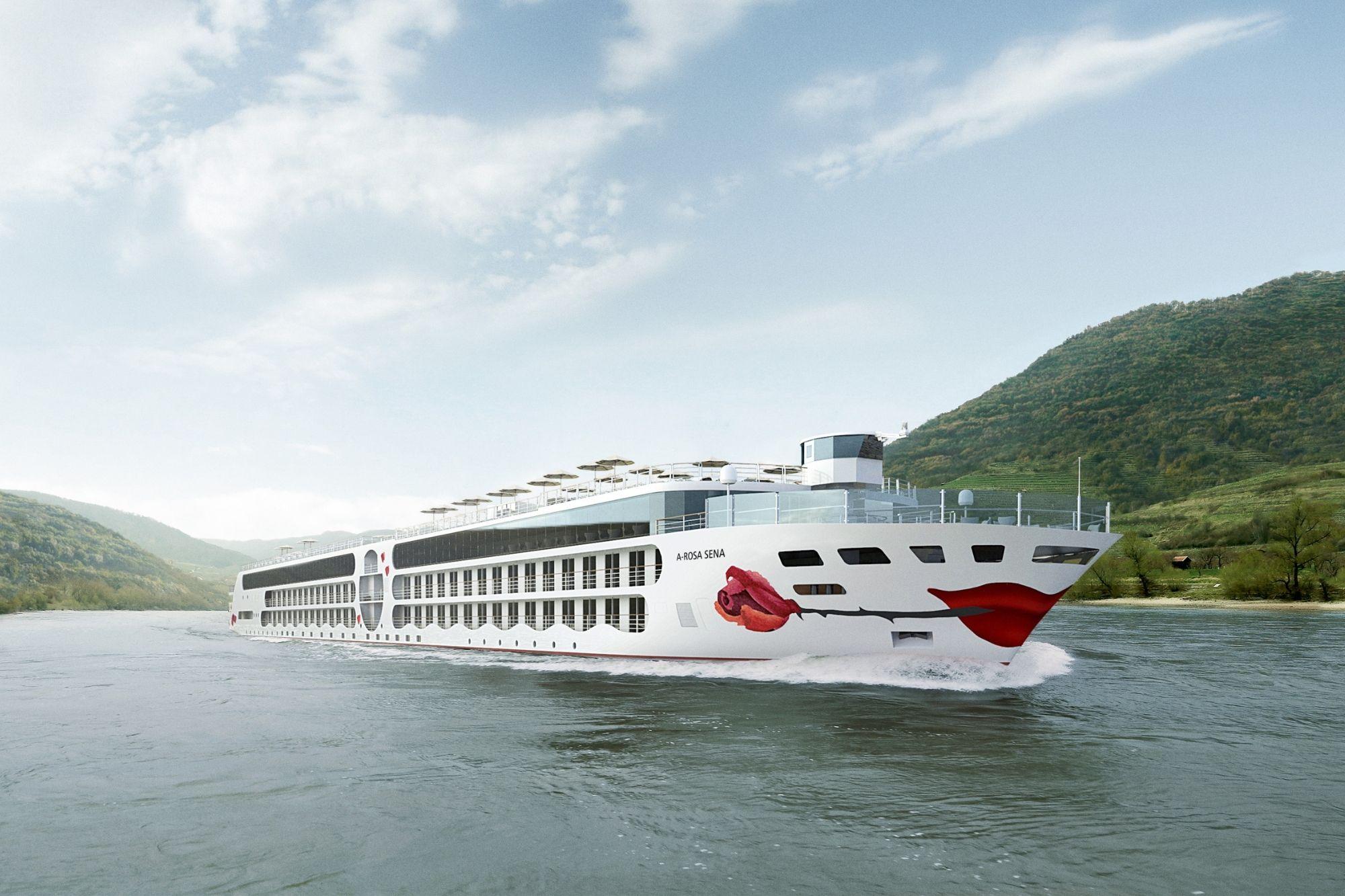A-ROSA Rhein-Neubau für 2022 heißt ,,A-ROSA SENA''