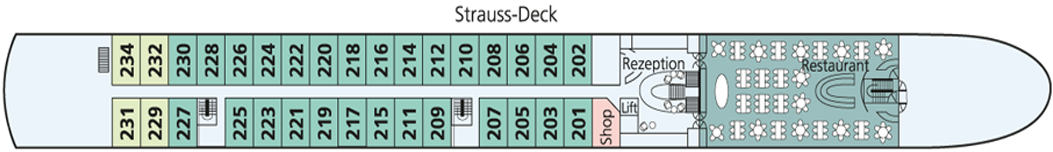 AMADEUS Diamond Strauss-Deck