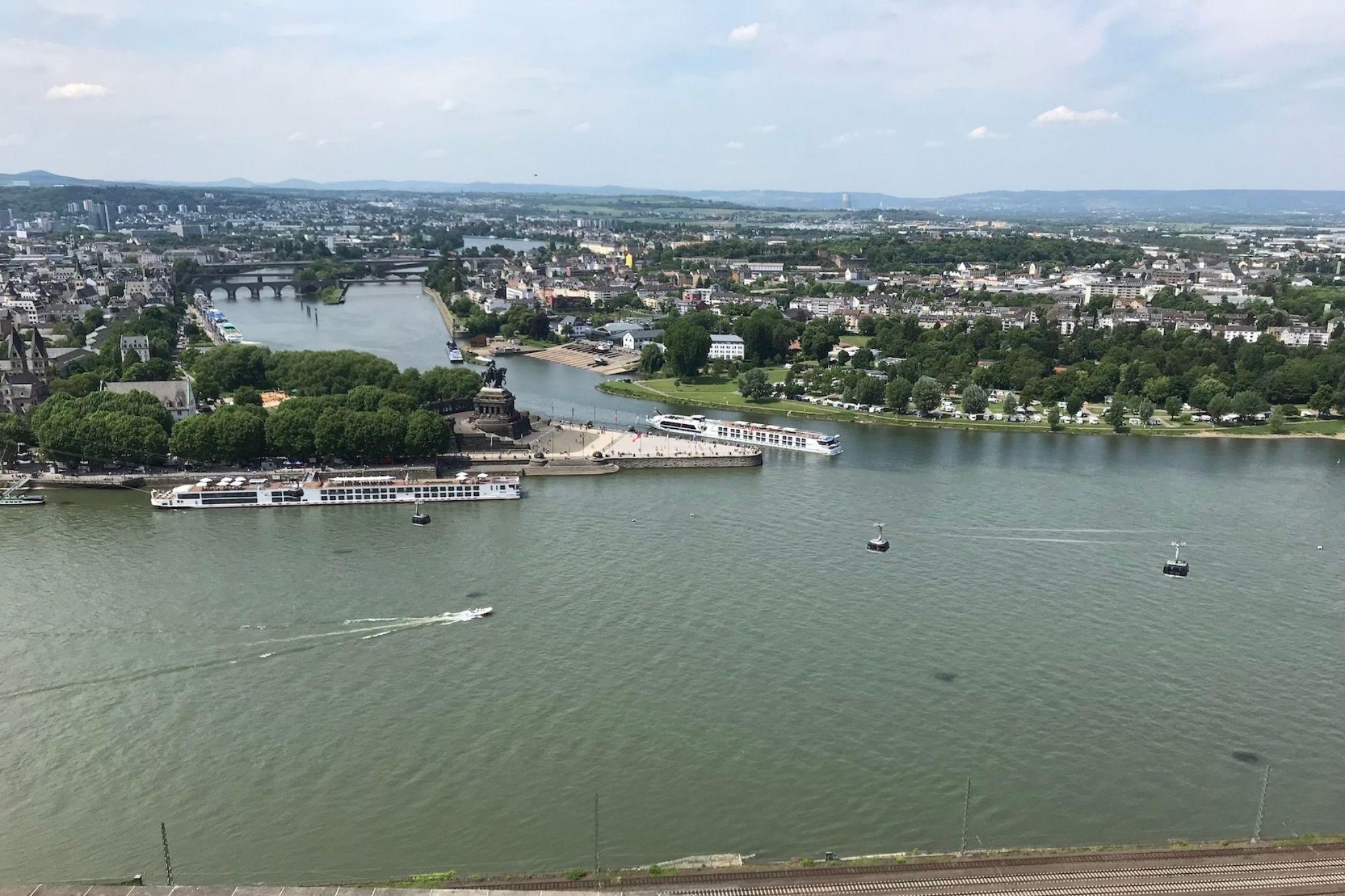 Rheinland-Pfalz verbietet Schiffsreisen