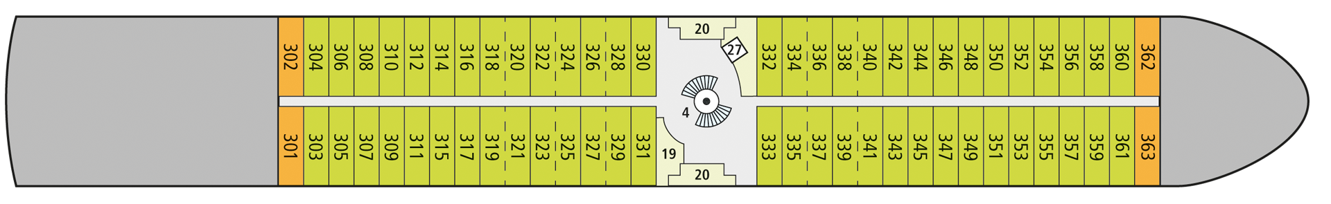 A-ROSA SENA Deck 3