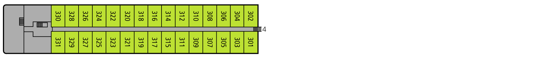 A-ROSA LUNA Deck 3