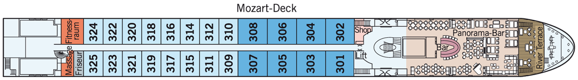AMADEUS Provence Mozart-Deck