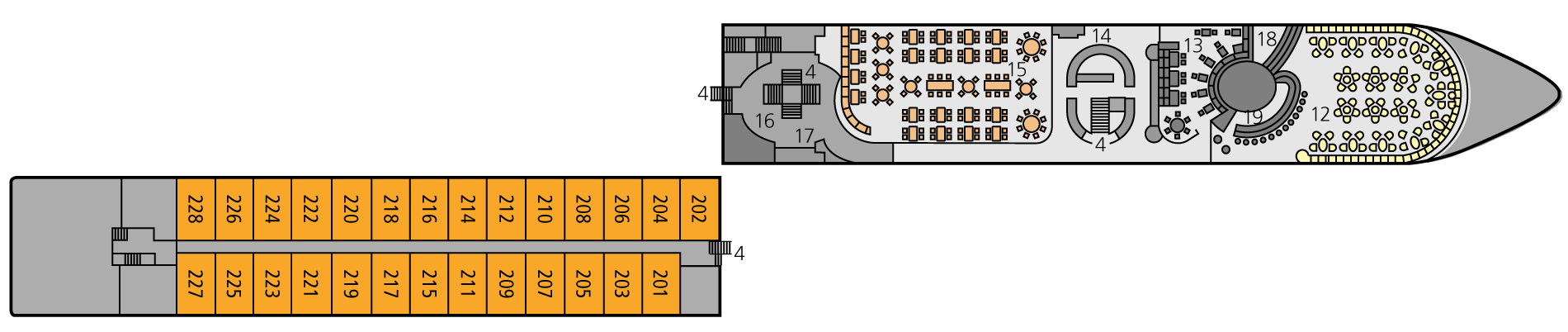 A-ROSA STELLA Deck 2