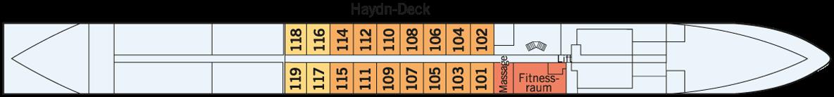 AMADEUS Silver II Haydn-Deck