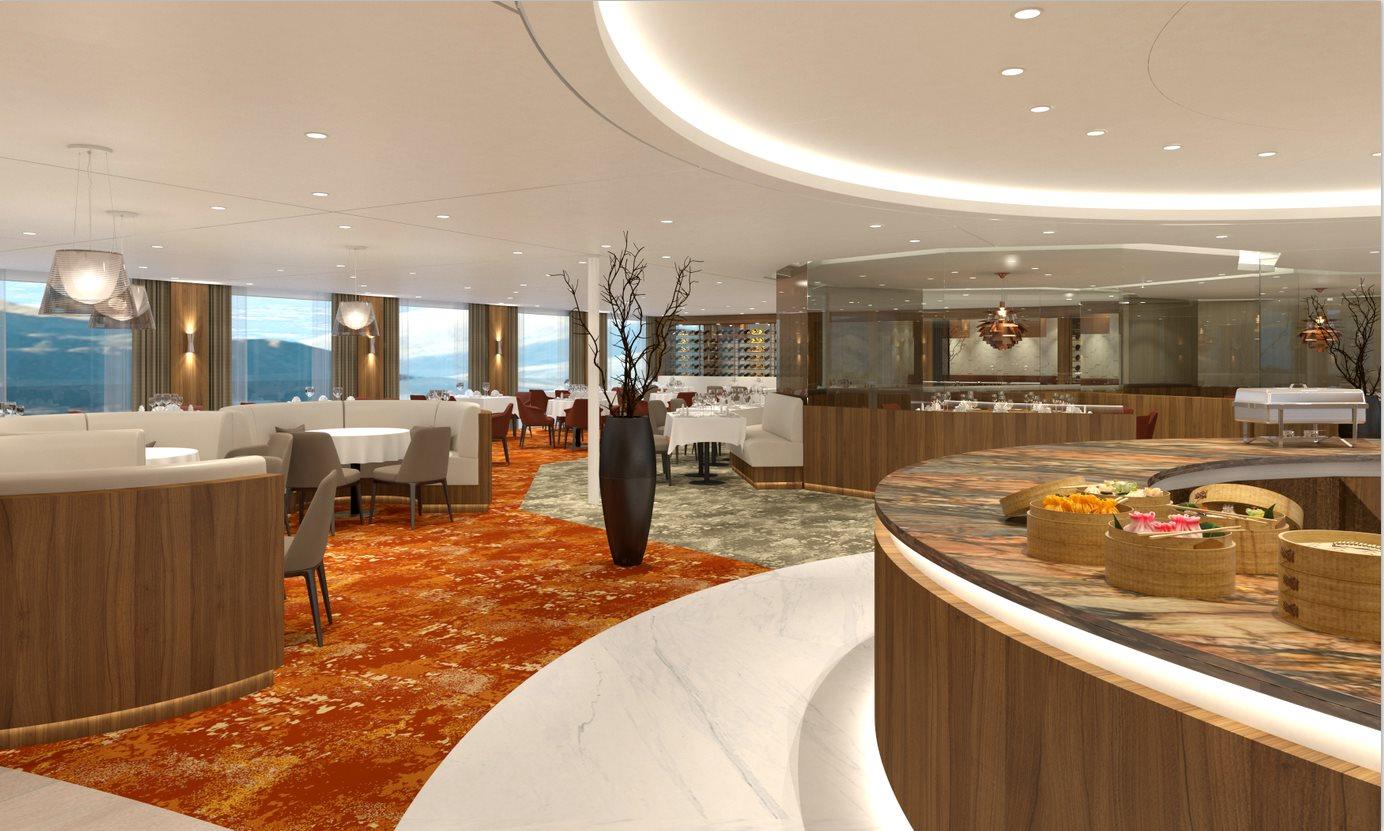 MS Century Glory Panorama Restaurant
