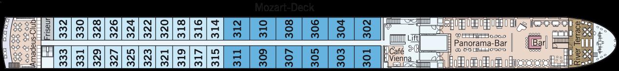 AMADEUS Cara Mozart-Deck