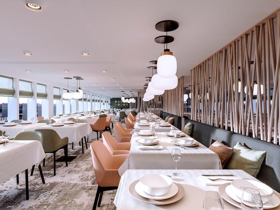 MS Antonia Vier Jahreszeiten Restaurant
