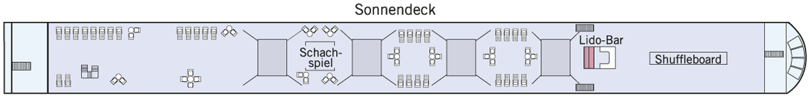AMADEUS Silver II Sonnendeck
