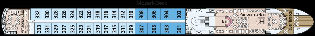 AMADEUS Brillant Mozart-Deck
