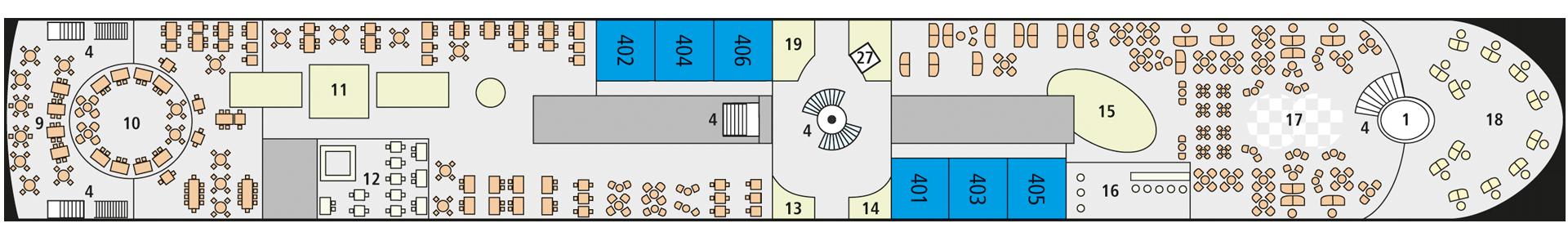 A-ROSA SENA Deck 4