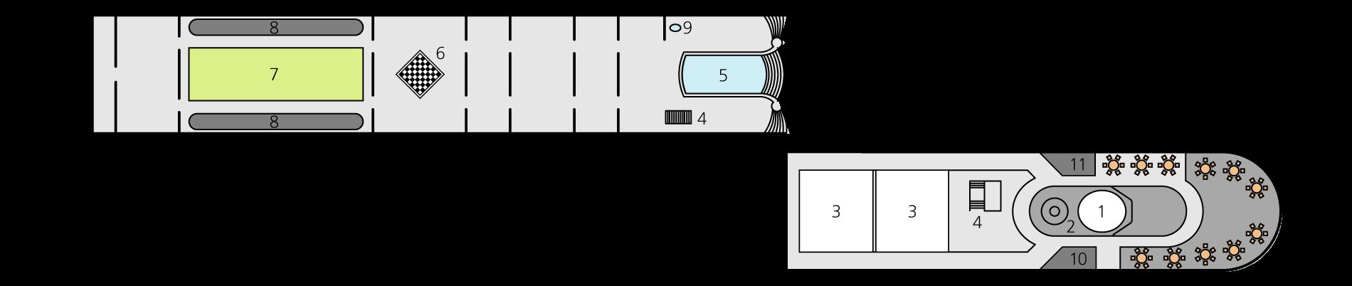 A-ROSA LUNA Deck 4