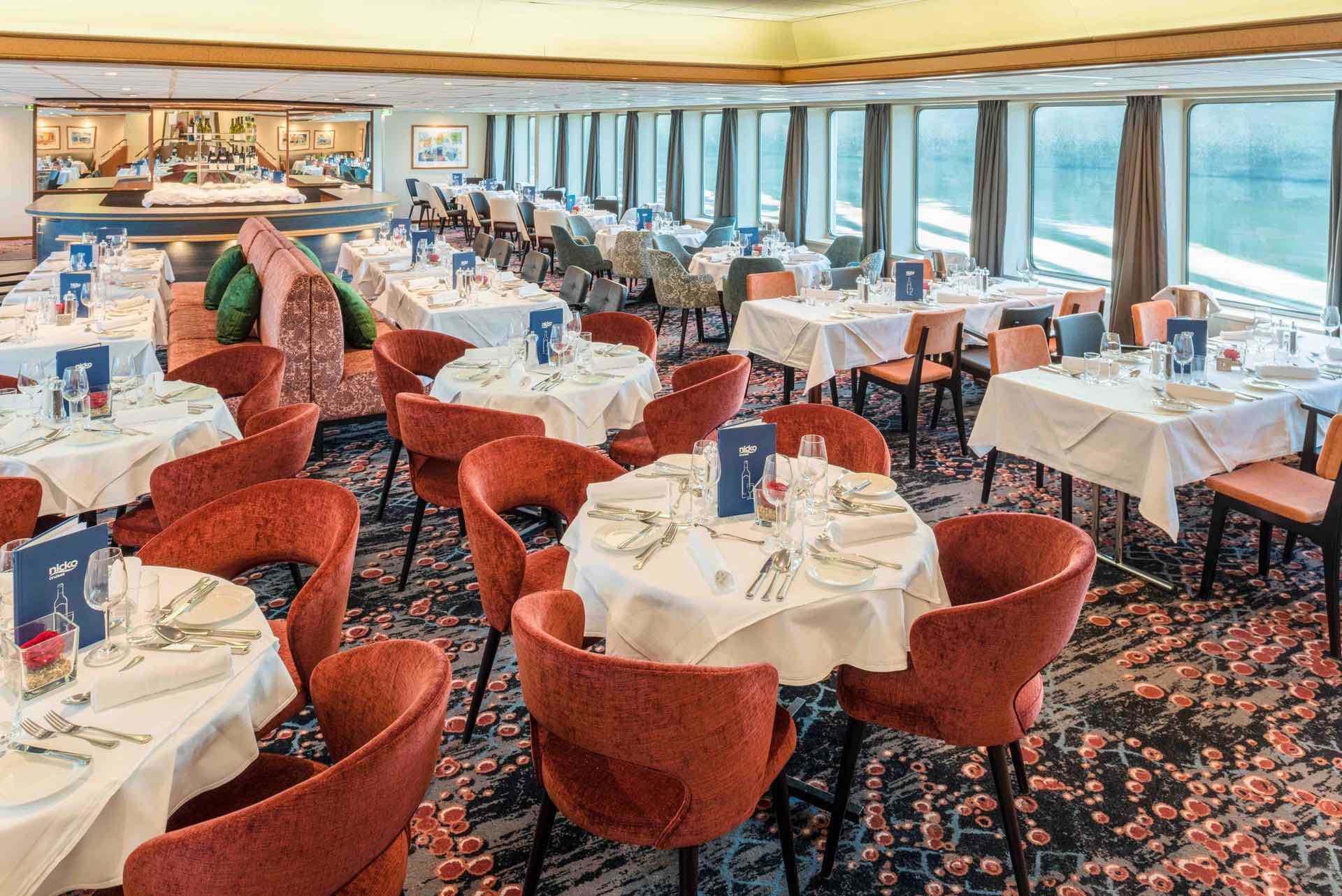 MS Seine Comtesse Panorama Restaurant