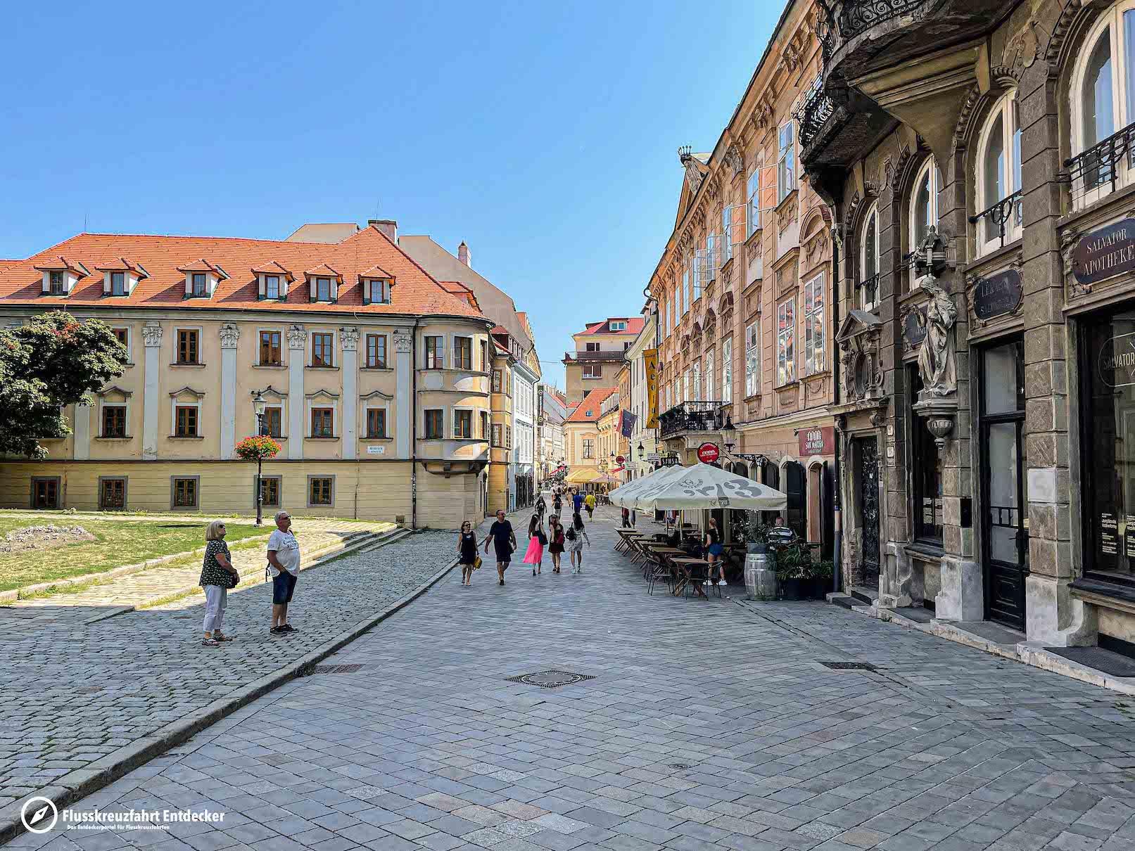 Die Altstadt Bratislavas