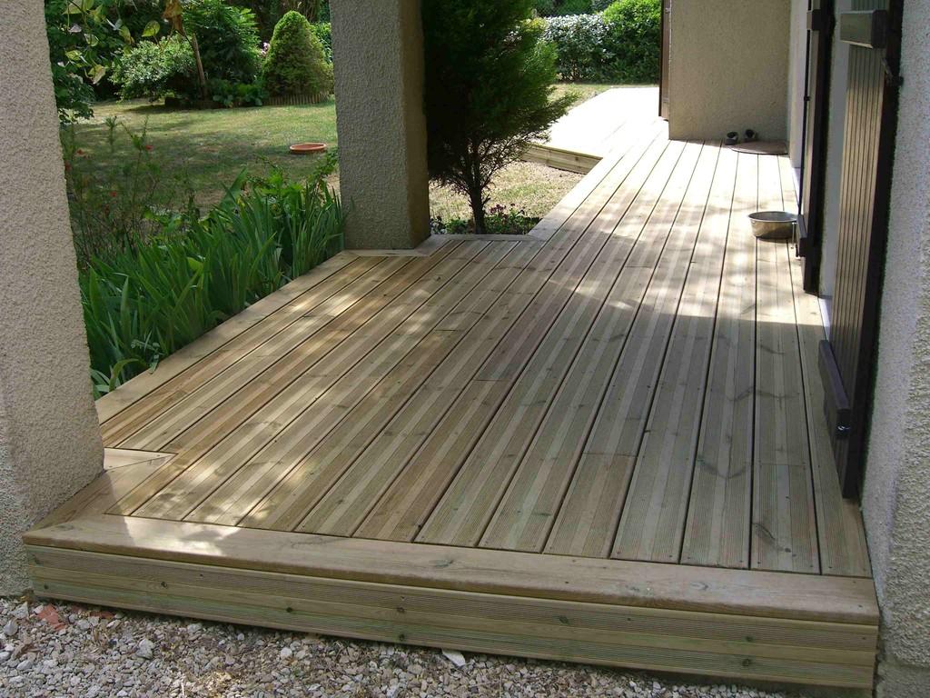 terrasse bois en pin CHERMIGNIAC 17
