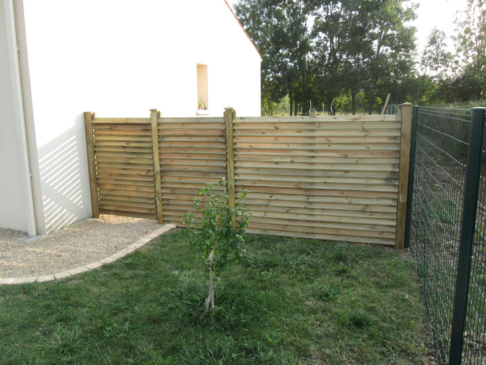 clôture en pin a brioux/boutonne 79