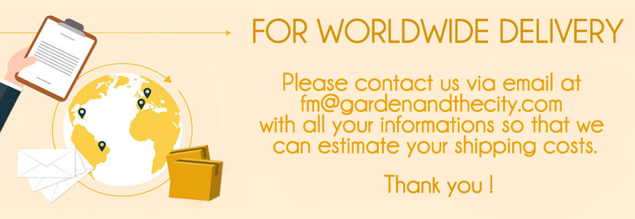 Garden and the city worldwide delivery