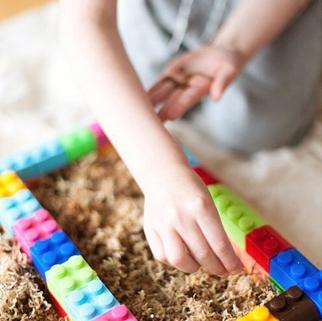 Carré potager enfant à construire