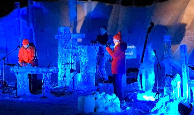 Terje mit Minna und Musik aus Finnland