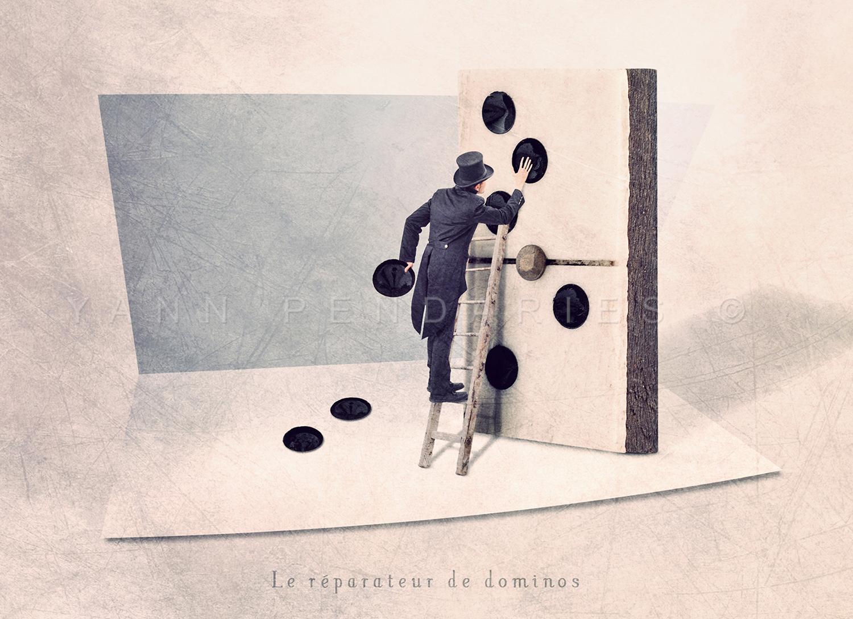 Le réparateur de dominos © Yann Pendariès