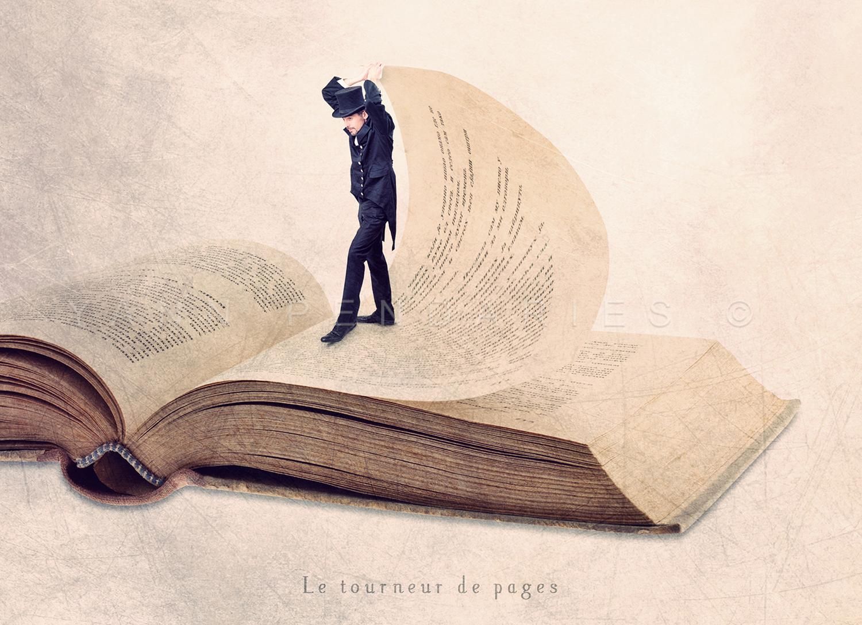 Le tourneur de pages © Yann Pendariès
