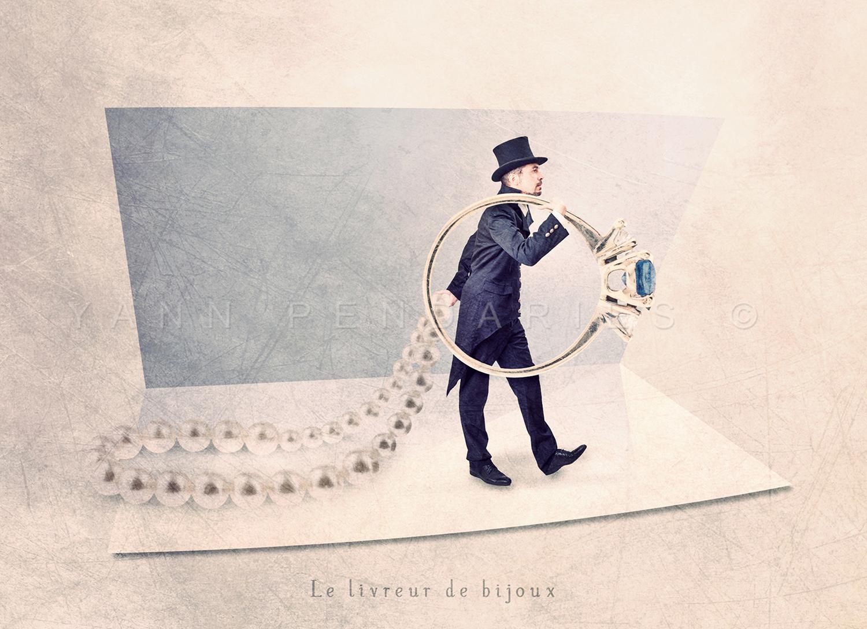 Le livreur de bijoux © Yann Pendariès