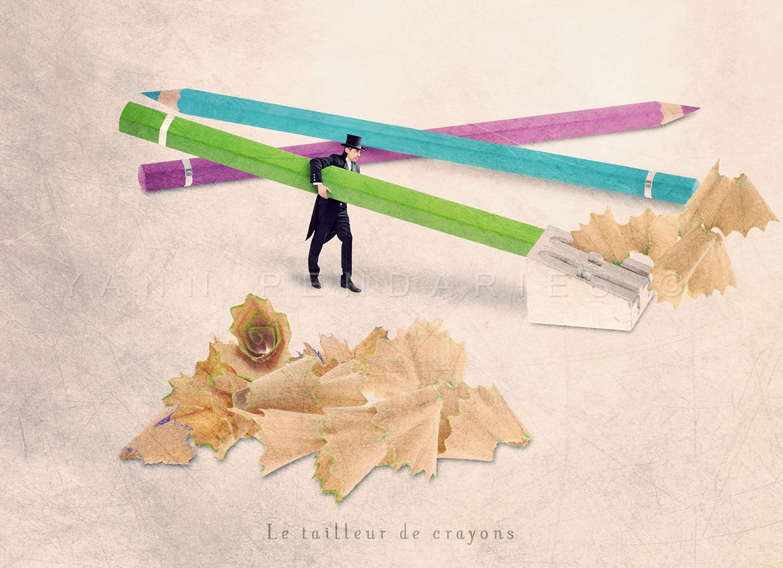 Le tailleur de crayons © Yann Pendariès