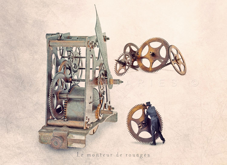 Le monteur de rouages © Yann Pendariès