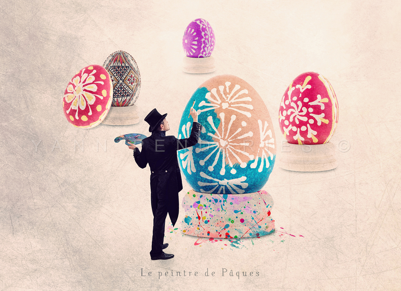 Le peintre de Pâques © Yann Pendariès