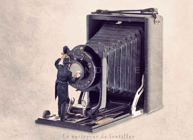 Le nettoyeur de lentilles © Yann Pendariès
