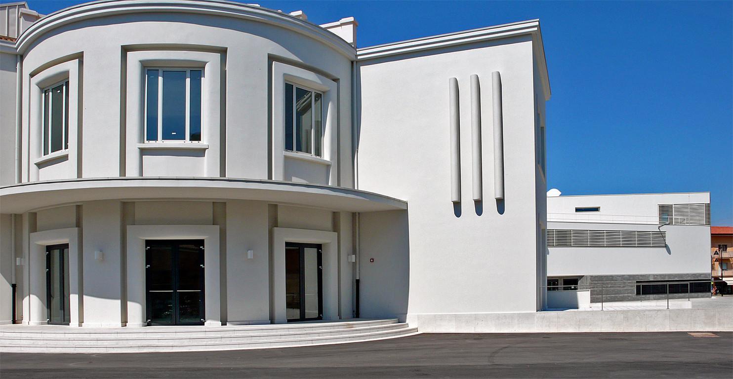 Caorle - Centro Culturale ex-Bafile (arch. Giorgio Macola)