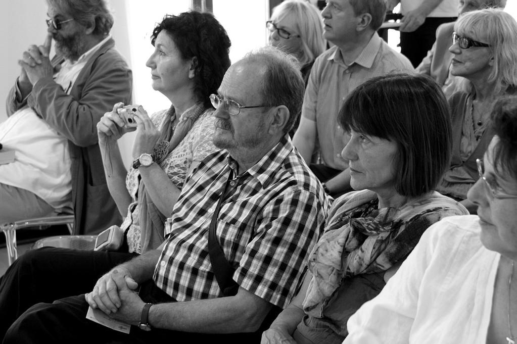 """""""fluSSidiverSi Start"""": Marko Kravos, Linda Mavian, Eros Olivotto, Adriana Gloria Marigo, Enrico Grandesso - 01/06/2012"""
