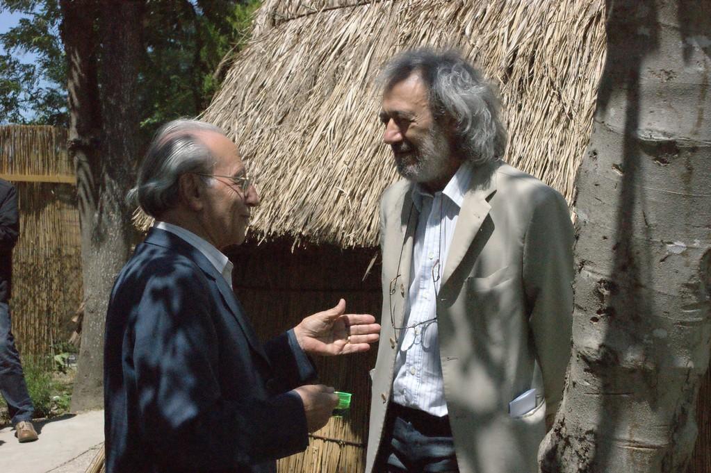 Giacomo Scotti e Flavio Ermini