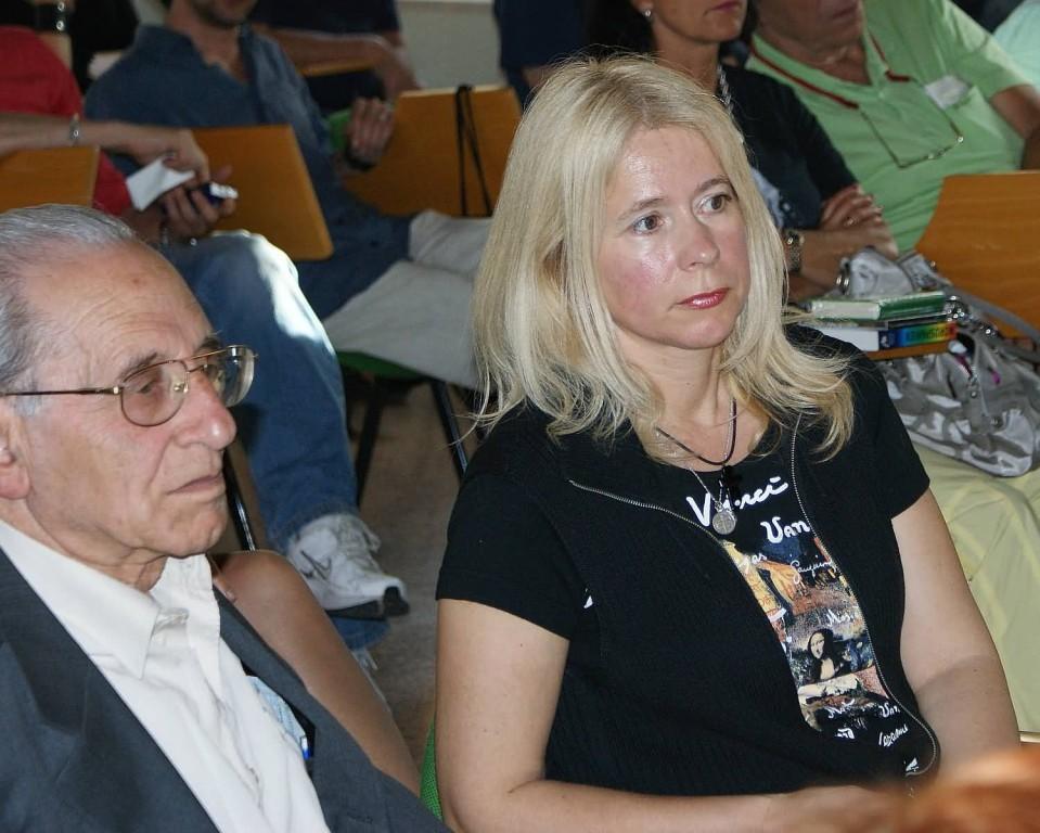 Inaugurazione - Giacomo Scotti e Diana Rosandić