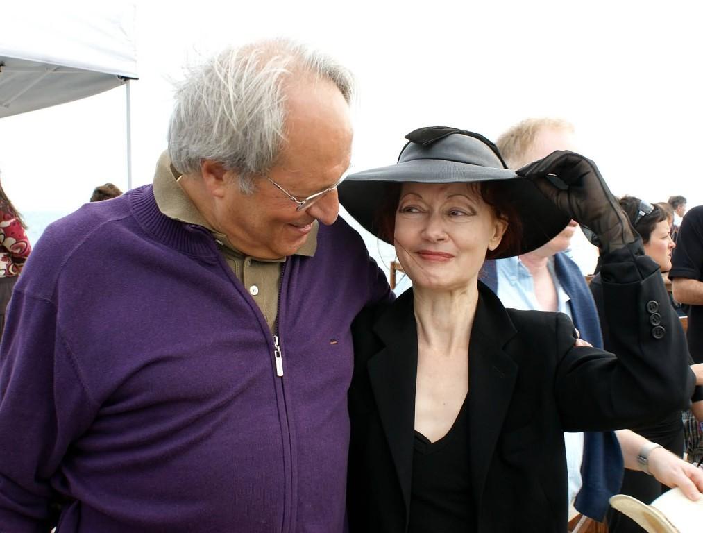 Antonio Cassuti e Patrizia Valduga