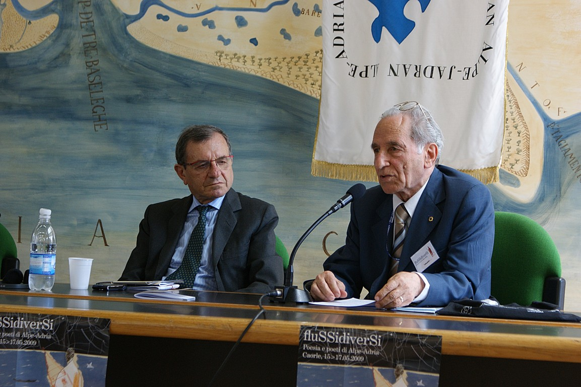 Simposio scientifico: da sinistra, F.Bandini e G. Scotti
