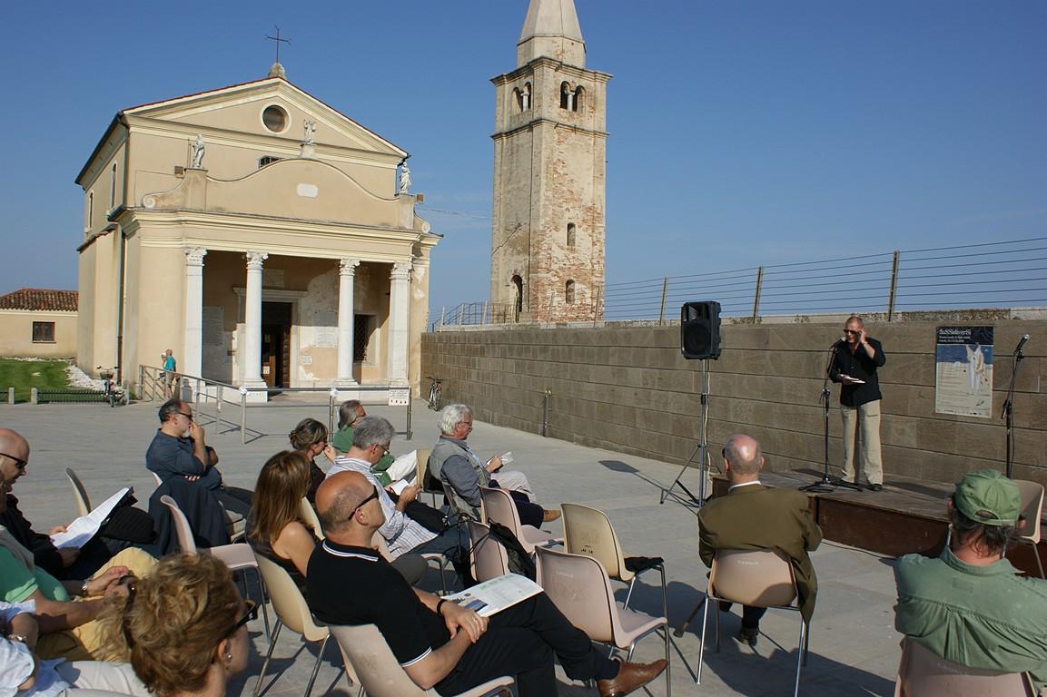 Reading al Santuario della Madonna dell'Angelo: Alberto Princis