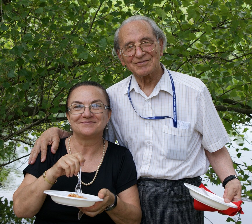 Renata Visintini Lambertini e Giacomo Scotti