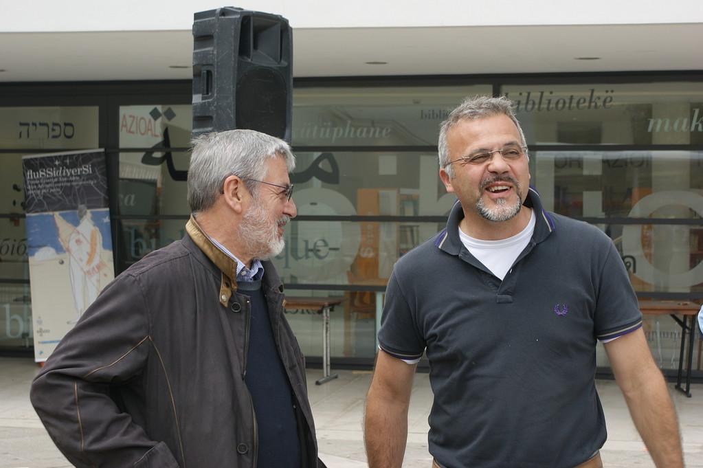 Piazza Matteotti: Angelo Tabaro e Roberto Davide Valerio - 03/06/2012