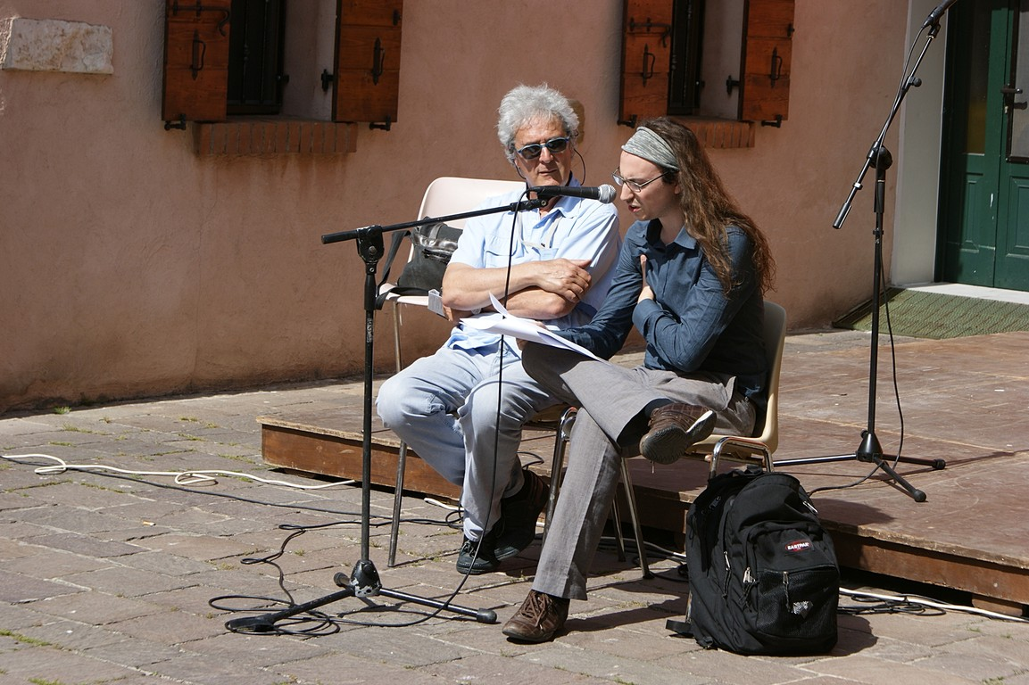 Reading in Campo Negroni: A. Debernardi e L. Rizzatello