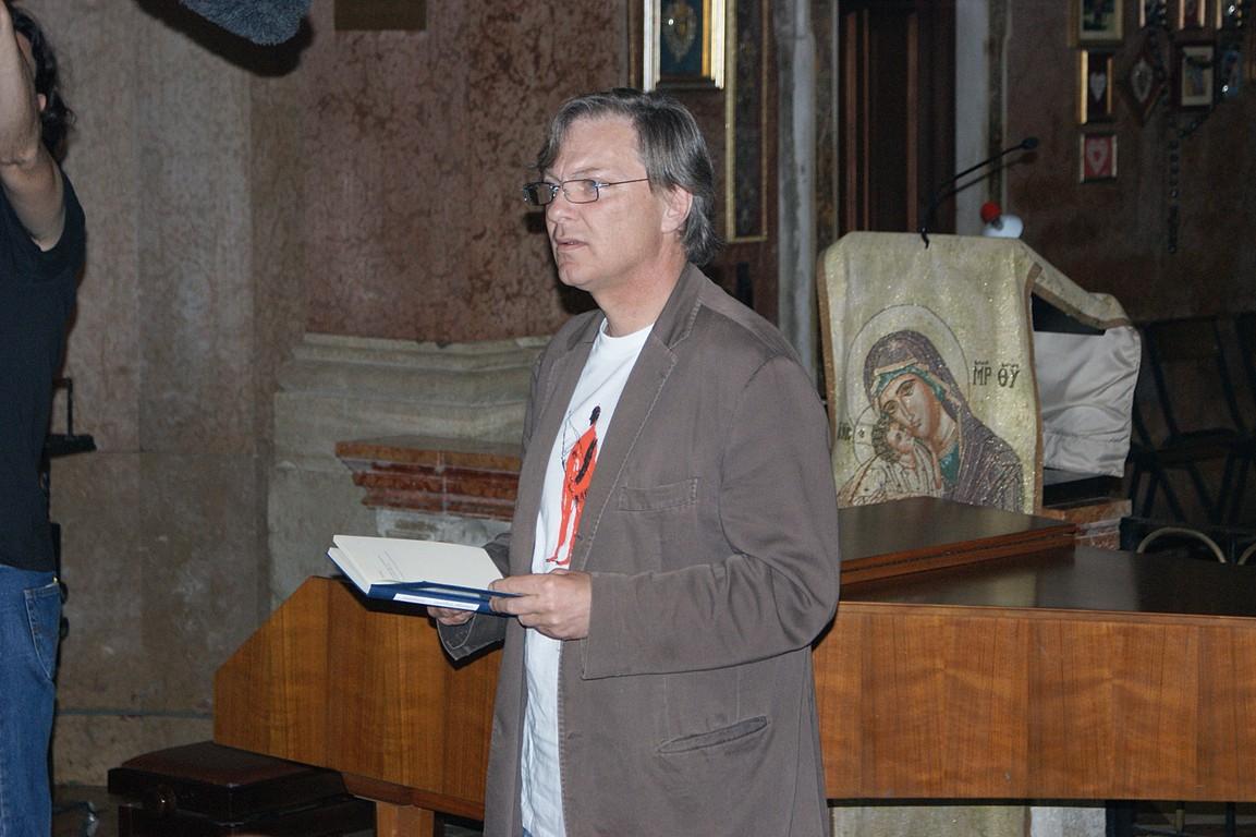 Reading al Santuario della Madonna dell'Angelo: C.W. Aigner