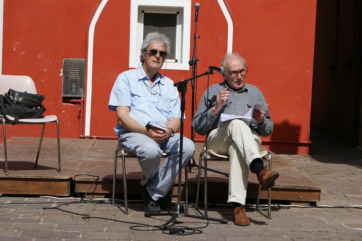 Reading in Campo Negroni: A. Debernardi e L. Morandini