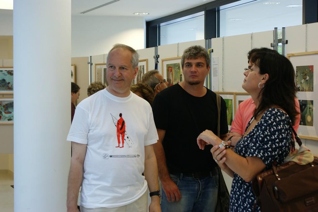 Enrico Grandesso, Gianluca Chierici e Valeria Bertesina
