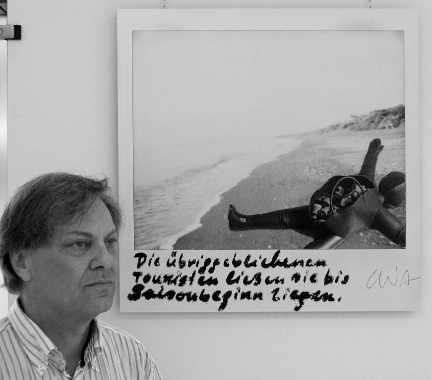 """Christoph Wilhelm Aigner e """"I turisti rimasti li lasciarono lì fino all'inizio della stagione"""""""